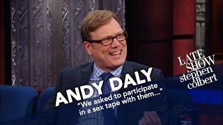 Andy Daly Acted Alongside A $4,000 Hyperrealistic Sex Doll