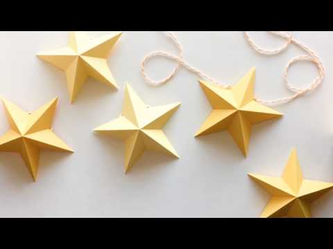 Tutorial: 3D Star Garland