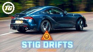 STIG DRIFTS: 2020 Toyota GR Supra drifting on the limit | Top Gear