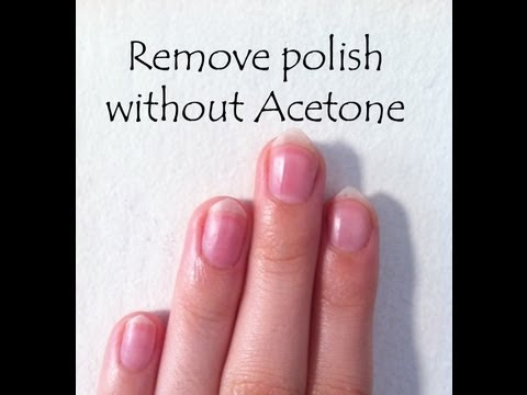 D.I.Y: How To Remove Nail Polish Without Acetone