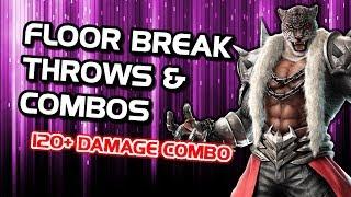 Tekken 7 Armor King - Secret Input For Giant Swing & Multi