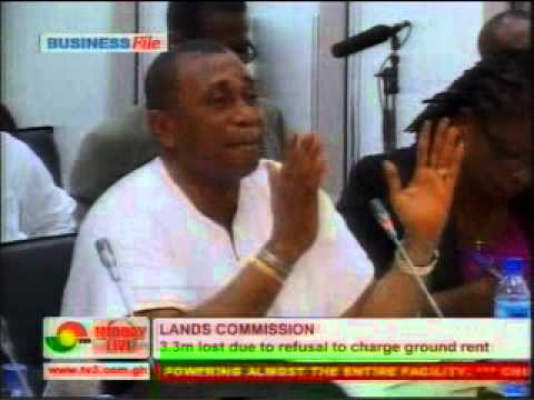 Lands commission at public Accounts committee - Corruption in Ghana