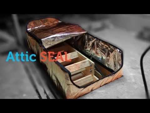 Attic Seal™ Attic Stair Cover | Attic Door Insulation - How to Measure Your Attic Access
