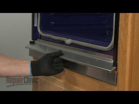 Kitchenaid Double Wall Bottom Vent Trim (Black) Replacement #WPW10351236