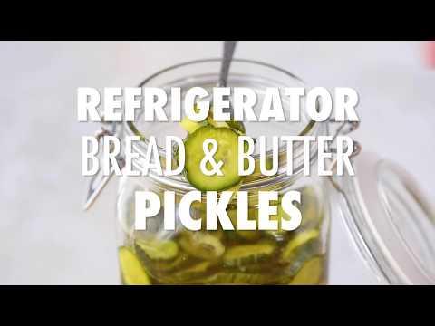 Refrigerator Bread & Butter Pickles
