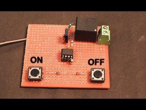 Ac 220 Volt Digital ON OFF Switch