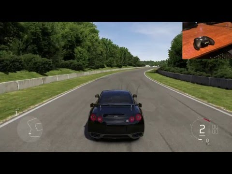 Forza 6 Tips & Tricks - How to use manual with clutch with a controller (Version 2)