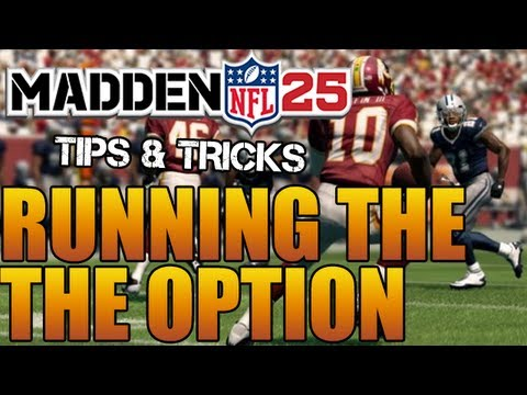 Madden 25 Tips   How To Run The Option, QB Read, Triple Option, Lead Option