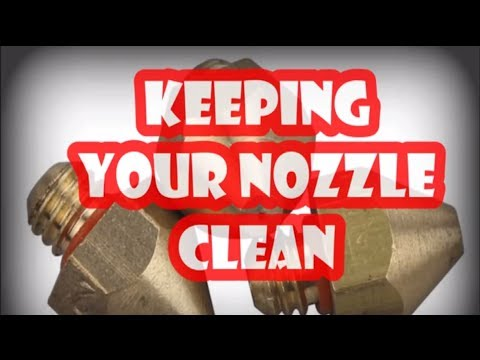 3D printer nozzle why you need to keep them clean