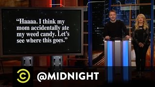 Extended - Tweets from Your Damn Delinquent Sons - Uncensored - @midnight with Chris Hardwick