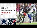 Cowboys Vs Texans Week 5 Highlights NFL 2018 mp3