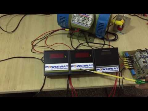 DC Motor Speed Control using DC Drives