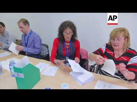 Votes counted as polls close in Hungary's parliamentary election
