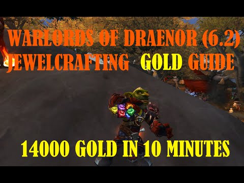 Warlords of Draenor 6.2 - How To Make 14000 Gold EASY and FAST