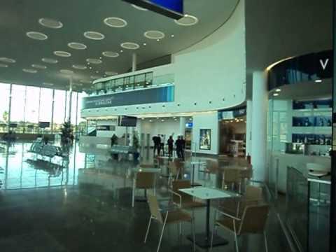 good View inside new Gibraltar International Airport 2014