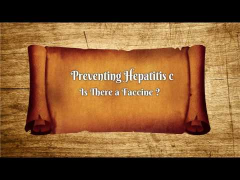 Preventing Hepatitis C :Is There a Vaccine?