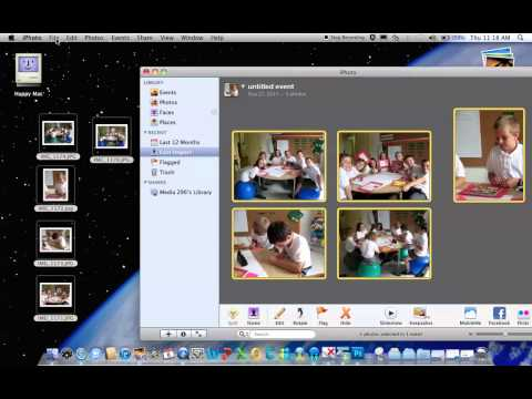 How to resize photos with iPhoto