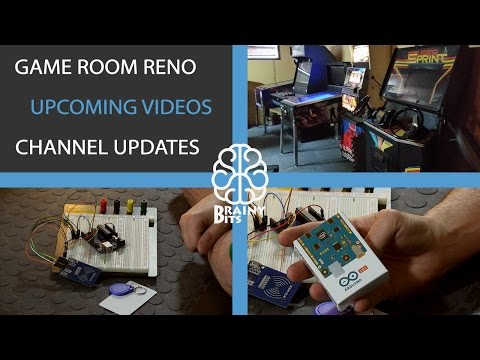 Game Room Reno - Upcoming Videos - Channel Update!