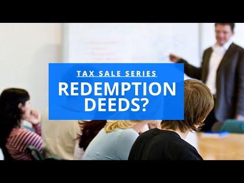Redemption Tax Deeds (Texas): Quick Start Training