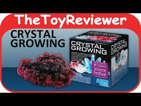 4M Science Series Crystal Growing Kit Unboxing Toy Review by TheToyReviewer