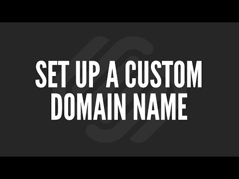 Squarespace Tutorial: Set Up a Custom Domain Name