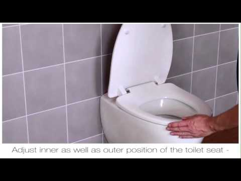 How To Fit A Pressalit D02 Top Fix Toilet Seat Hinge