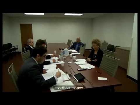 New York State Athletic Commission Meeting May 1, 2013