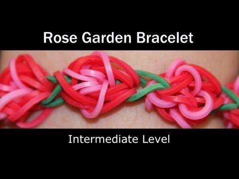 Rainbow Loom® Rose Garden Bracelet