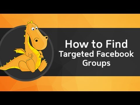 How to find what Facebook groups someone is in