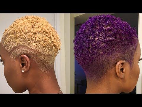 I DYED MY HAIR PURPLE! 💜 | Nia Hope
