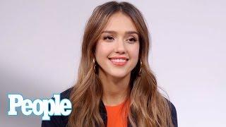 Jessica Alba Talks
