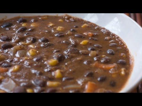 Healthy Vegan Recipes - Vegan Black Bean Soup