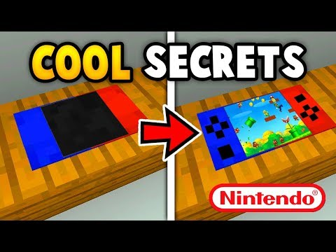 MINECRAFT 5 CRAZY  SECRET THINGS YOU CAN MAKE  (Ps3/Xbox360/PS4/XboxOne/WiiU)
