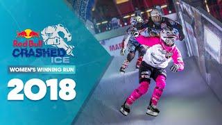 Who won Red Bull Crashed Ice 2018 France - Women