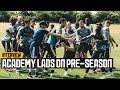 Wolves Academy Players Reflect On First team Training Camp