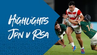 HIGHLIGHTS: Japan v South Africa – Rugby World Cup 2019
