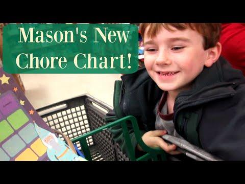 Mason's new reward chart {Daily Vlog}