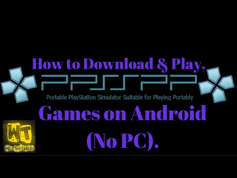 How to download PSP games on Android [No PC].