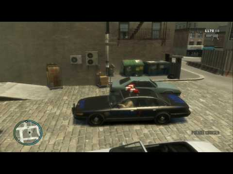 GTA IV: Secret Police Car