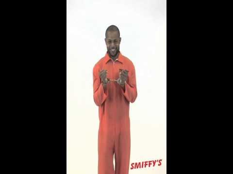 USA Orange Prisoner Costume