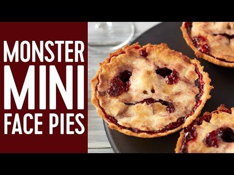 How to Make Halloween Mini Pie Faces