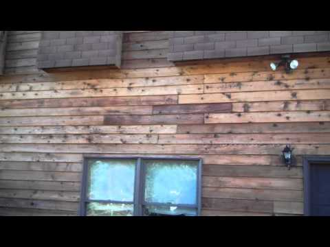 Stripping, Reviving and Staining Wood Siding