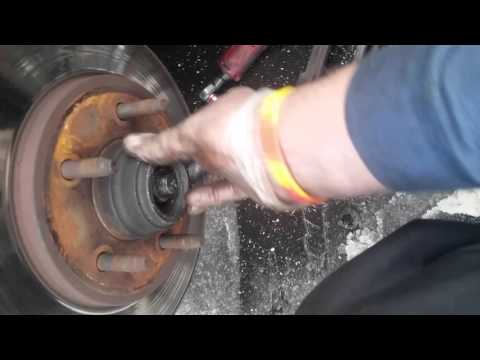 Wheel Bearing, 97-02 Ford Expedition Remove Replace