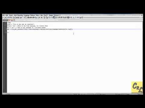 Using the Google Translator API With PHP
