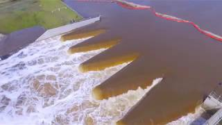 Hurricane Florence Drone Footage