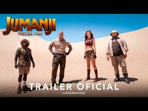 Jumanji: Próxima Fase   Trailer Oficial Legendado