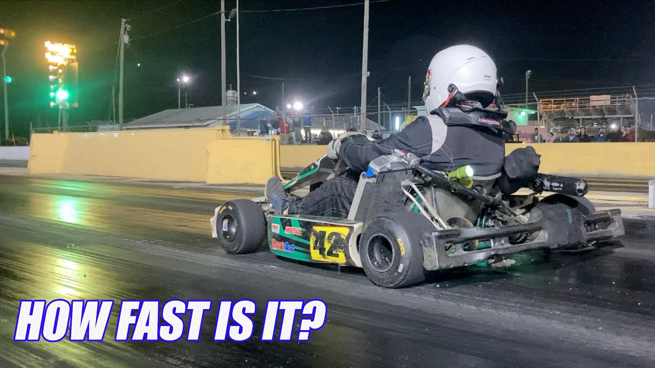 I Take My Shifter Kart to the Drag Strip And Tear Up the Streets!