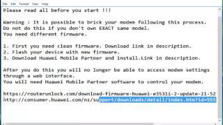 Huawei E5372 Flasher