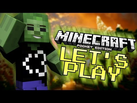 0.12.0 Survival Let's Play #22 - FIRE ASPECT SWORD! - Minecraft PE (Pocket Edition)