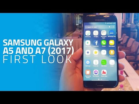 Samsung Galaxy A5 and A7 (2017) First Look | New Features, Samsung Pay in India, and More